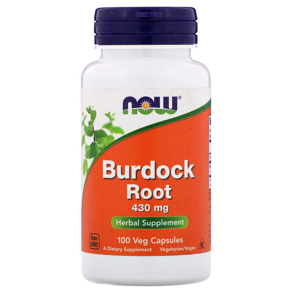 Burdock Root, 430 mg, 100 Veg Capsules