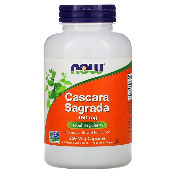 Now Foods, Cascara Sagrada, 450 mg, 250 Veg Capsules