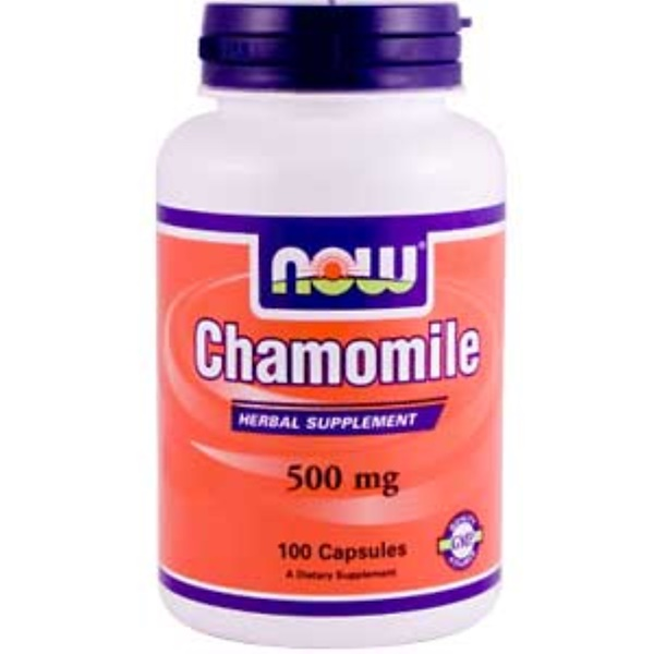Now Foods, Chamomile, 500 mg, 100 Capsules (Discontinued Item)