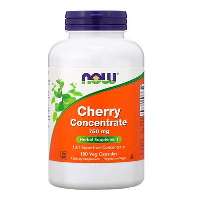 Фото - Cherry Concentrate, 750 mg, 180 Veg Capsules hyaluronic acid 50 mg 60 veg capsules