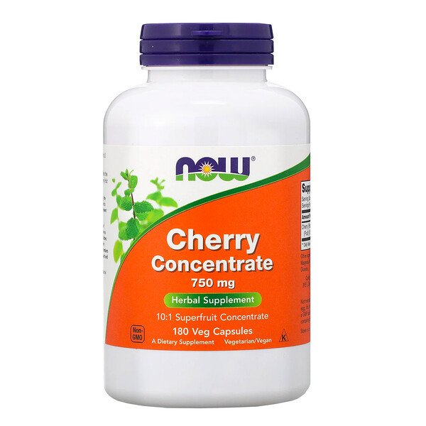 Black Cherry, 750 mg, 180 Veg Capsules