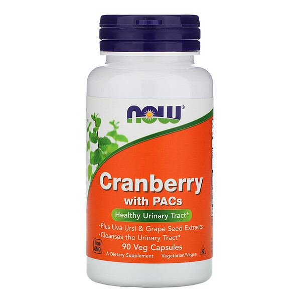 Cranberry with PACs, 90 Veg Capsules