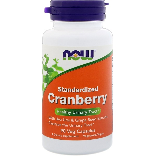 Now Foods, Standardized Cranberry, 90 Veg Capsules