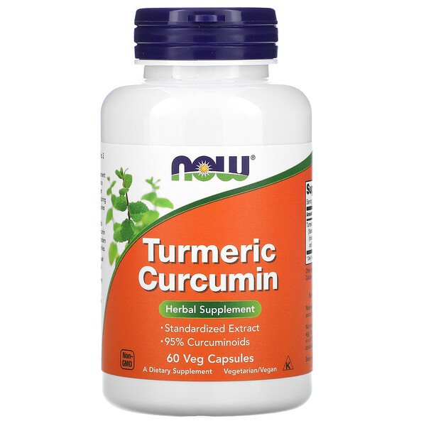 Turmeric Curcumin, 60 Veg Capsules