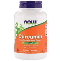 Куркумин, 120 вегетарианских капсул - фото