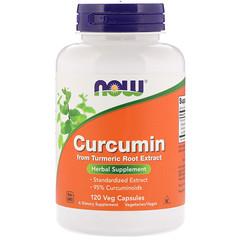 Now Foods, Curcumin, 120 Veg Capsules