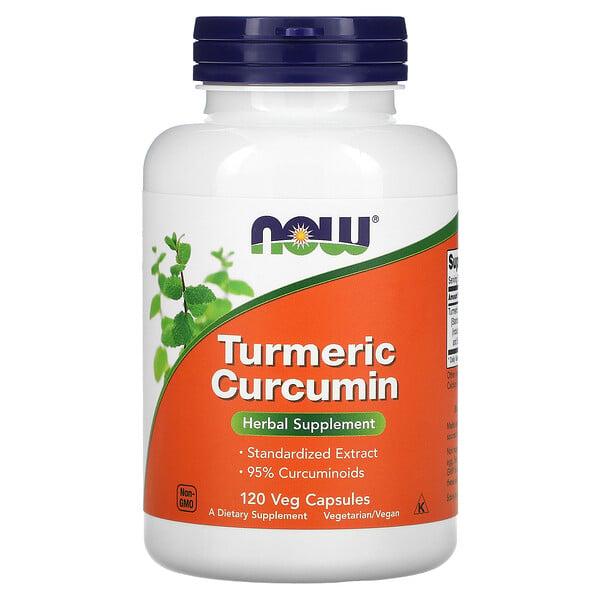 Now Foods, Turmeric Curcumin, 120 Veg Capsules