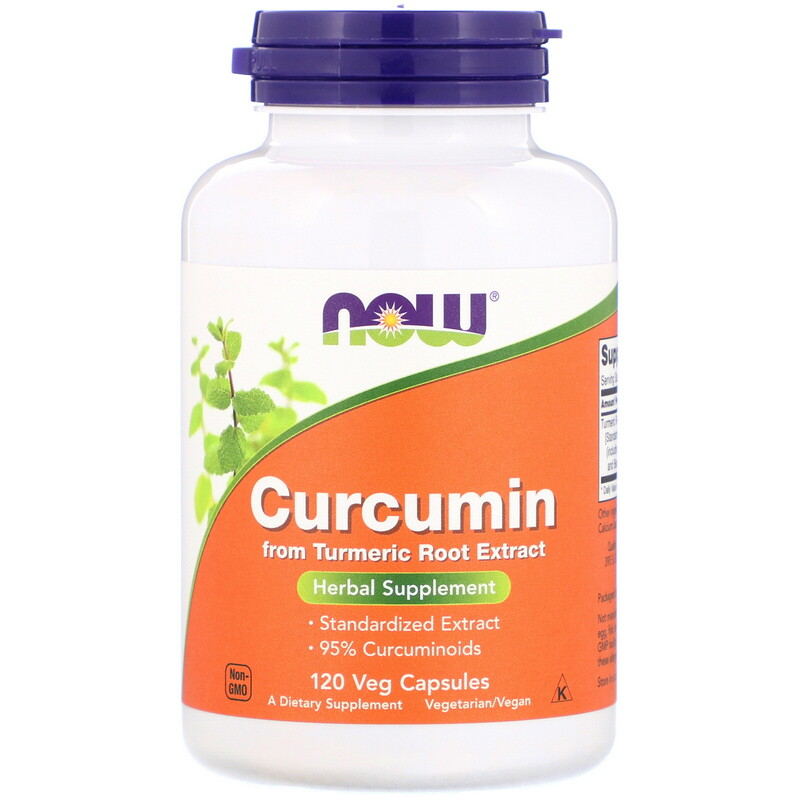 Curcumin, 120 Veg Capsules