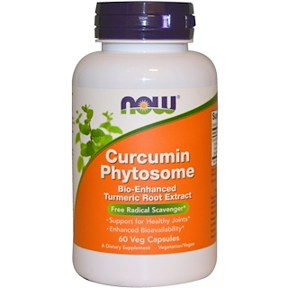 Now Foods, Curcumin Phytosome, 60 Veggie Caps