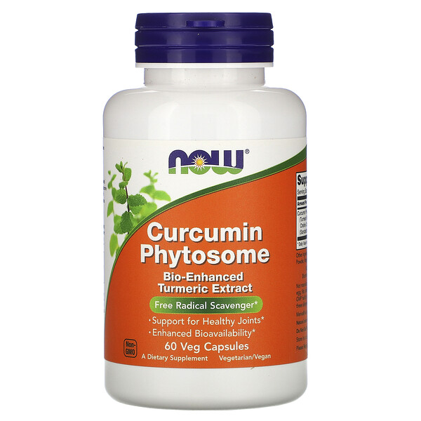 Now Foods, Curcumin Phytosome, 60 Veg Capsules