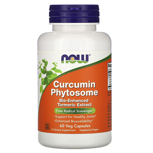 Now Foods, Curcumin Phytosome, 60 Veg Capsules отзывы