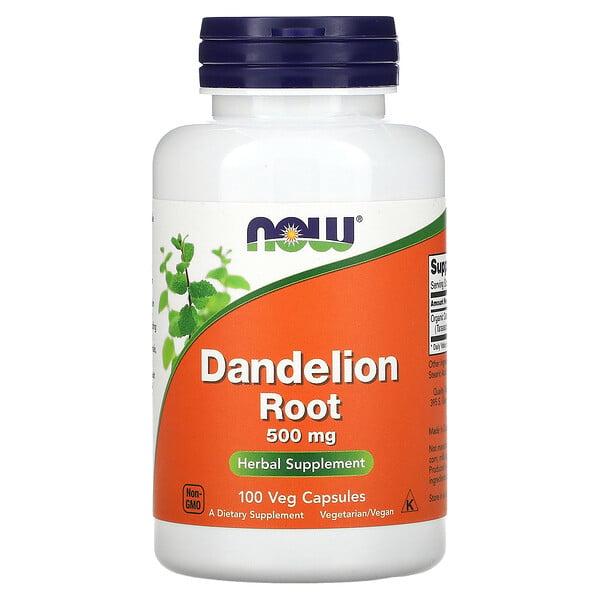 Dandelion Root, 500 mg, 100 Veg Capsules