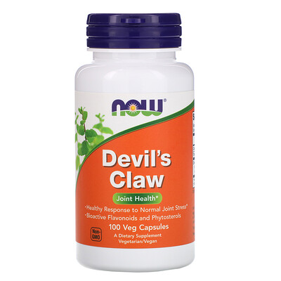 Now Foods Devil's Claw, 100 Veg Capsules