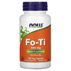 Now Foods, Fo-Ti, He Shou Wu, 560 mg, 100 Veg Capsules отзывы