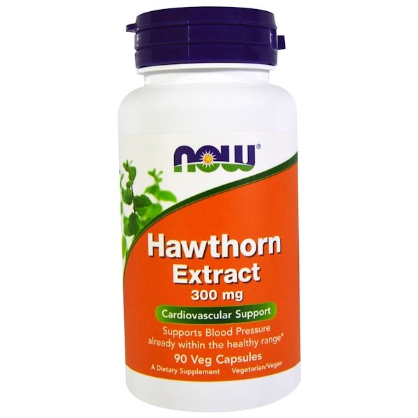Now Foods, Hawthorn Extract, 300 mg, 90 Veg Capsules