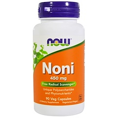 Now Foods, Noni, 450 mg, 90 Veggie Caps