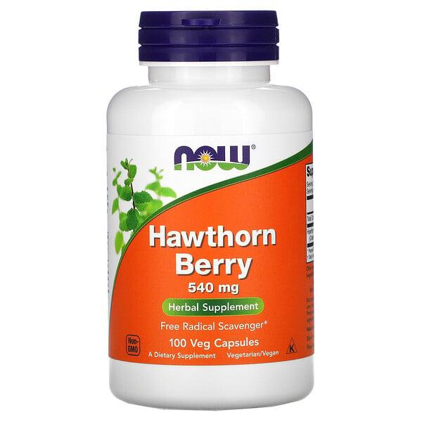 Hawthorn Berry, 540 mg, 100 Veg Capsules