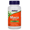 Now Foods, Maca, 500 mg, 100 Cápsulas Vegetais
