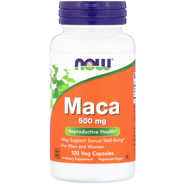 Now Foods, Maca, 500 mg, 100 Veg Capsules