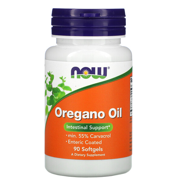 Now Foods, Oregano Oil, 90 كبسولة