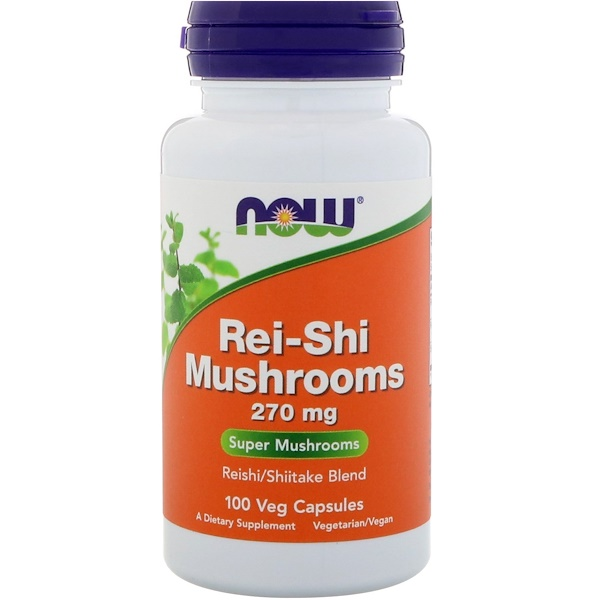 Rei-Shi Mushrooms, 270 mg, 100 Veg Capsules