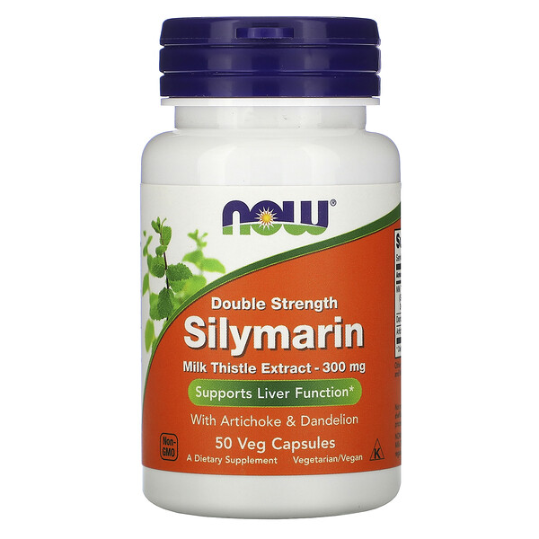 Double Strength Silymarin, 300 mg, 50 Veg Capsules