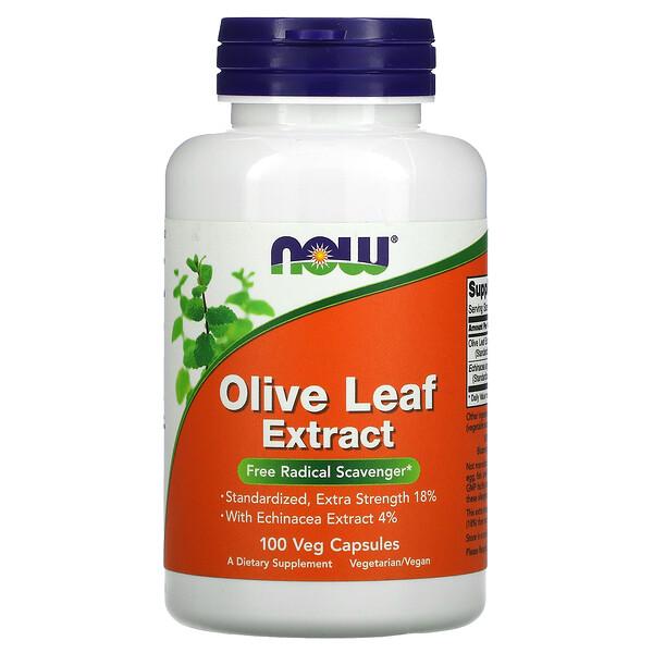 Olive Leaf Extract, 100 Veg Capsules