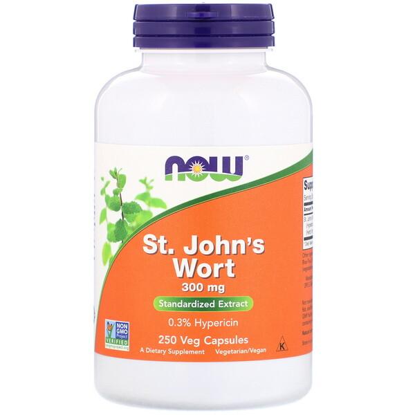 St. John's Wort, 300 mg, 250 Veg Capsules