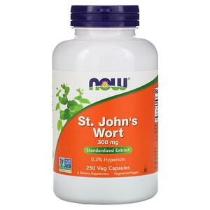 Now Foods, St. John's Wort, 300 mg, 250 Veg Capsules отзывы