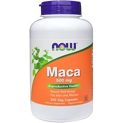 Now Foods, Maca, 500 mg, 250 Veg Capsules