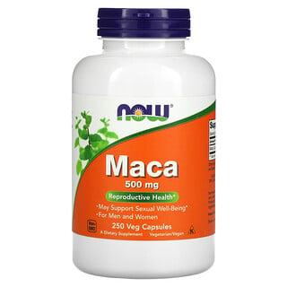 Now Foods, Maca, 500 mg, 250 Veg Capsules