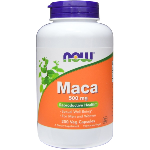 NOW (Now Foods) Maca 500 мг