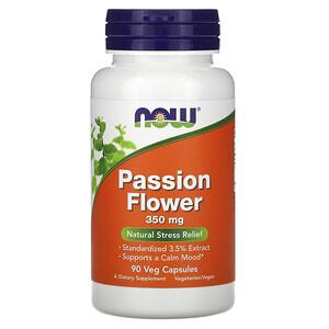 Now Foods, Passion Flower, 350 mg, 90 Veg Capsules отзывы