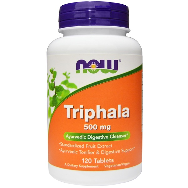 Triphala, 500 mg, 120 Tablets
