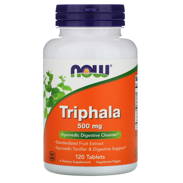 Now Foods, Triphala、500 mg、120粒