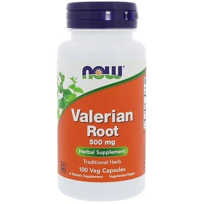 Купить Корень валерьяны, 500 мг, 100 растительных капсул