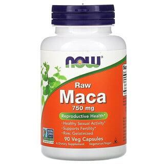Now Foods, Maca, Raw, 750 mg, 90 Veg Capsules
