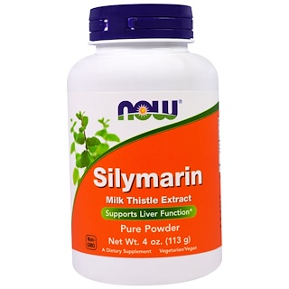 Now Foods, Silymarin, Pure Powder, 4 oz (113 g)