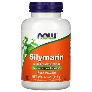 Now Foods, Silymarin, Pure Powder, 4 oz (113 g) отзывы покупателей