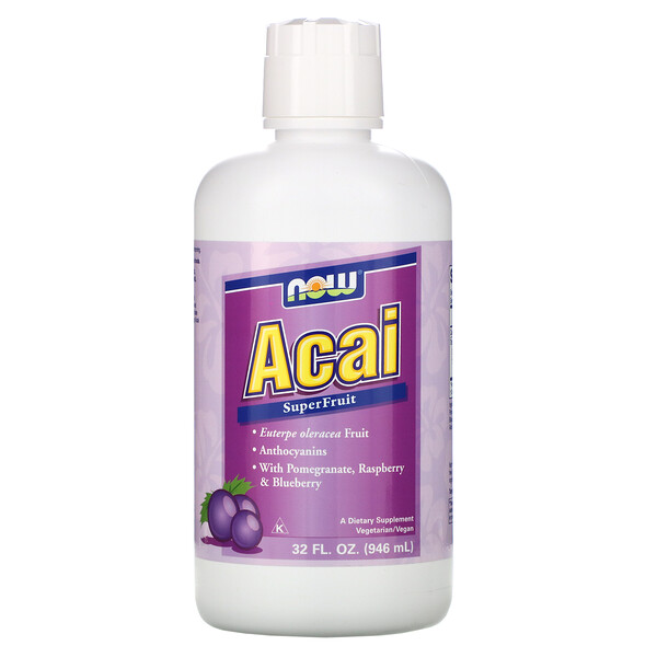 Now Foods, Acai SuperFruit , 32 fl oz (946 ml)