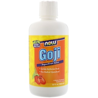 Now Foods, Goji, SuperFruit Juice, 32 fl oz (946 ml)