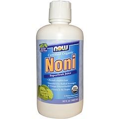 Now Foods, 오가닉, 노니, 슈퍼 프루트 주스, 32 액량 온스 (946 밀리리터)