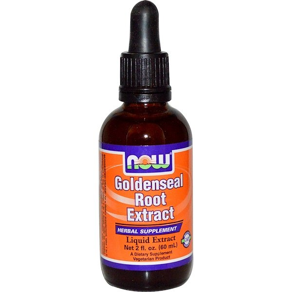 Now Foods, Goldenseal Root Extract, 2 fl oz (60 ml) (Discontinued Item)