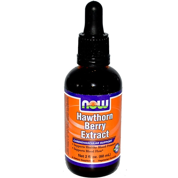 Now Foods, Hawthorn Berry Extract, 2 fl oz (60 ml) (Discontinued Item)