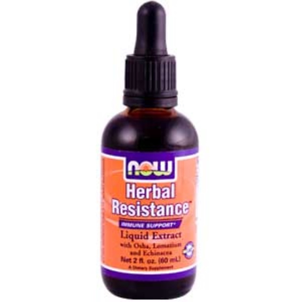 Now Foods, Herbal Resistance, 2 fl oz (60 ml) (Discontinued Item)