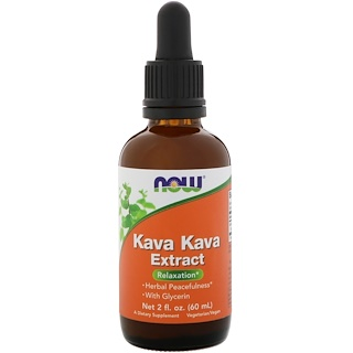 Now Foods, Extracto Kava Kava, 2 fl oz (60 ml)