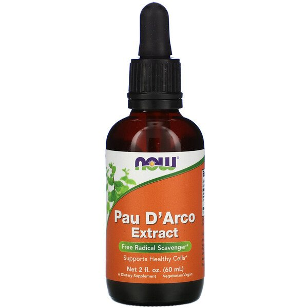 Now Foods, Extrait de pau d'arco, 2 fl oz (60 ml)