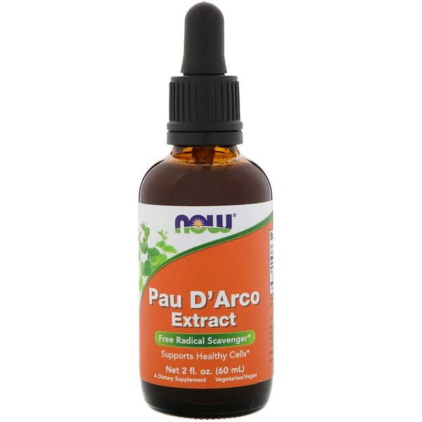 Now Foods, Extrato de Pau D'Arco, 2 fl oz (60 ml)