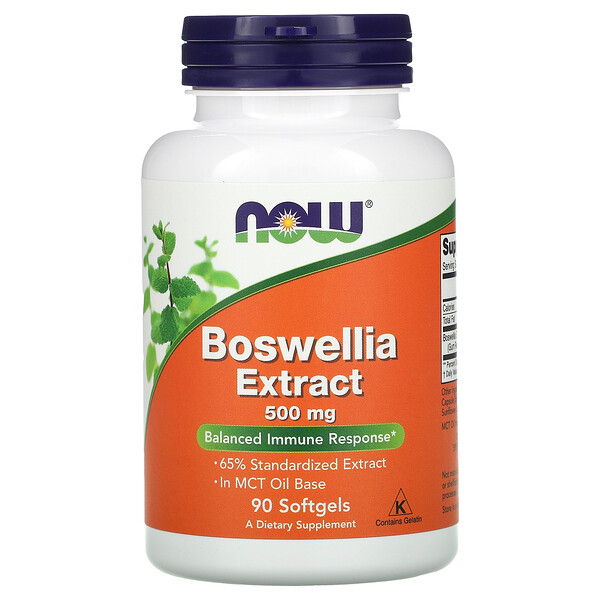 Boswellia Extract, 500 mg, 90 Softgels