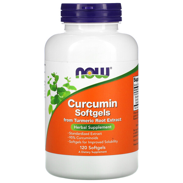 Curcumin Softgels, 120 Softgels